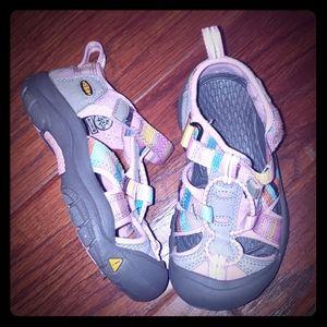 Keen brand Toddler runner sandals
